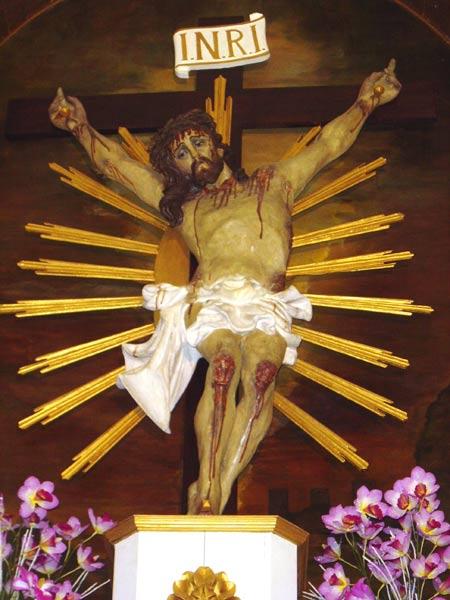 jesus crusificado