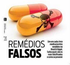 Remédios falsos