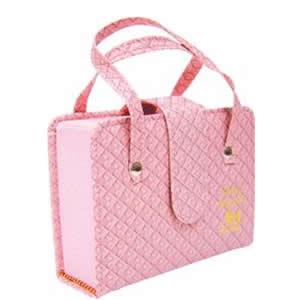 biblia rosa bolsinha