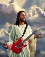 jesus tocando